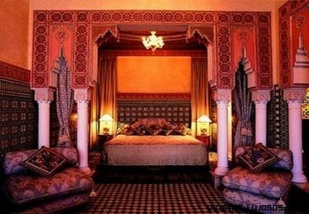 Suites de lujo en hotel mamounia