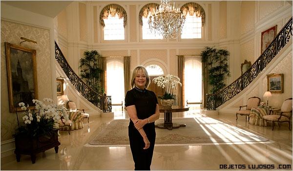 decoración de lujo en mansiones