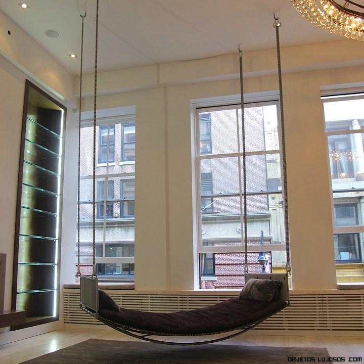 muebles de lujo en áticos
