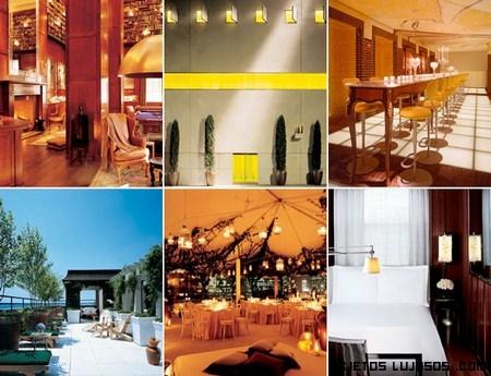Instalaciones de hoteles famosos