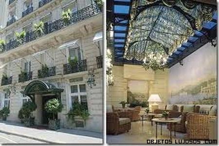 Fachadas de hoteles de lujo