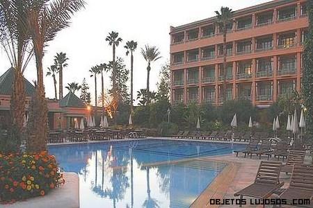 piscinas de hoteles de lujo