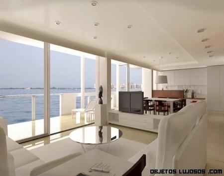 Decoración en apartamentos de luj