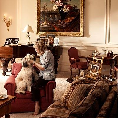 decoración clásica en mansiones de lujo