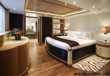 dormitorios de lujo en yates