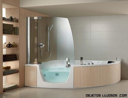 Bañeras en mansiones de lujo