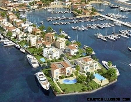 Villas de lujo al lado del mar