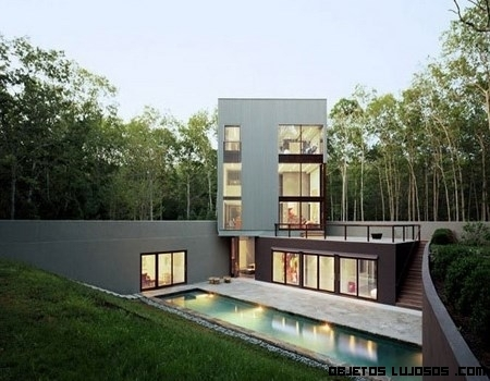 Mansiones de lujo en plena naturaleza