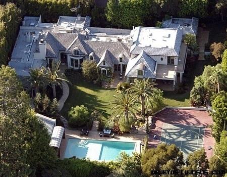 mansiones de famosos lujosas
