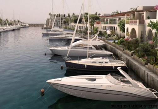 yates de lujo en residencias de Chipre