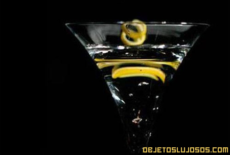 Martini con diamantes