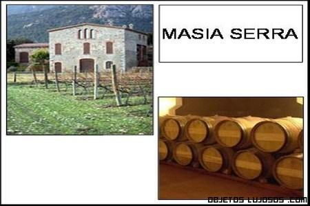 Vino lujoso de Masía Serra