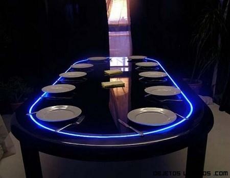 mesas LED