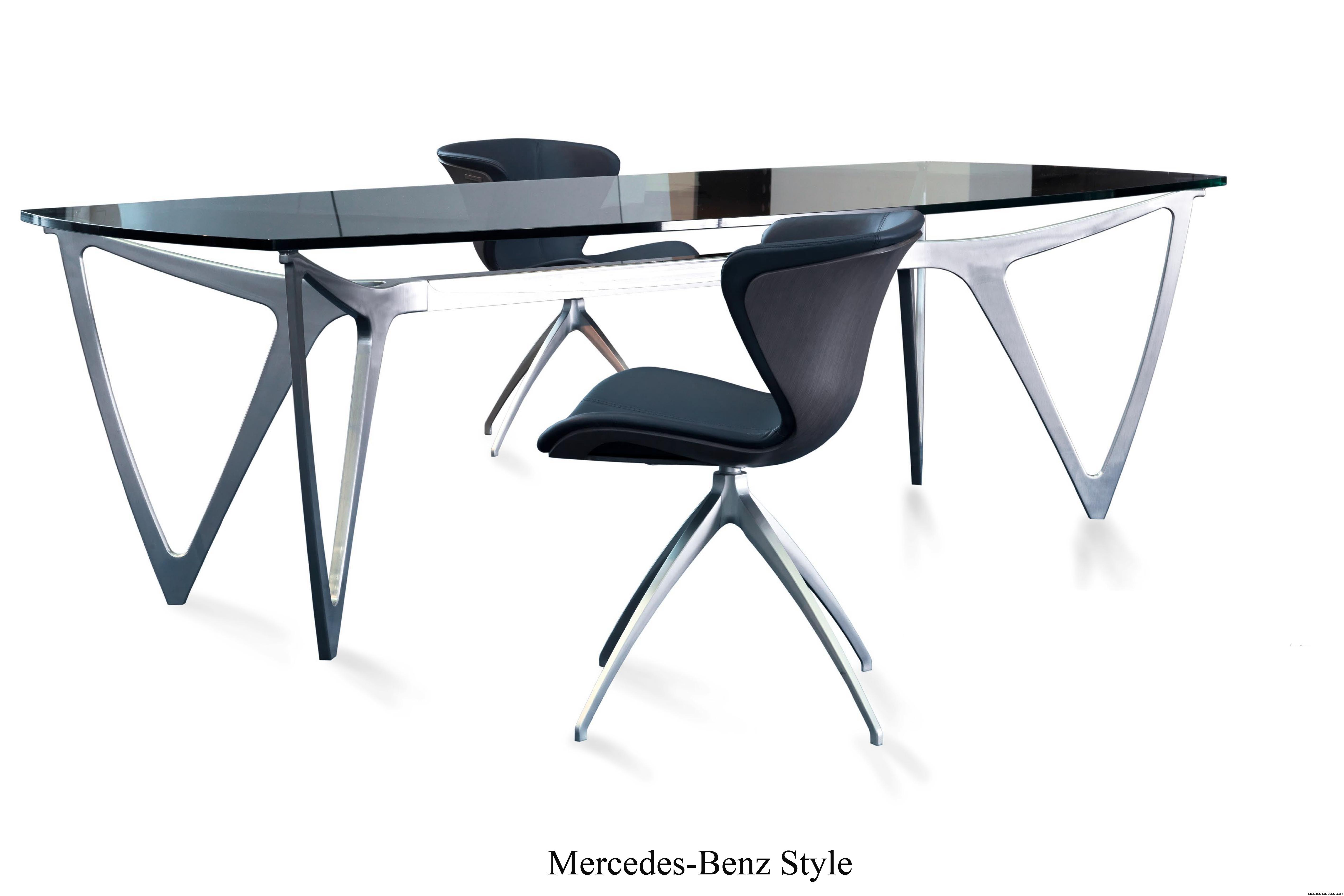 mesas de comedor estilo futurista