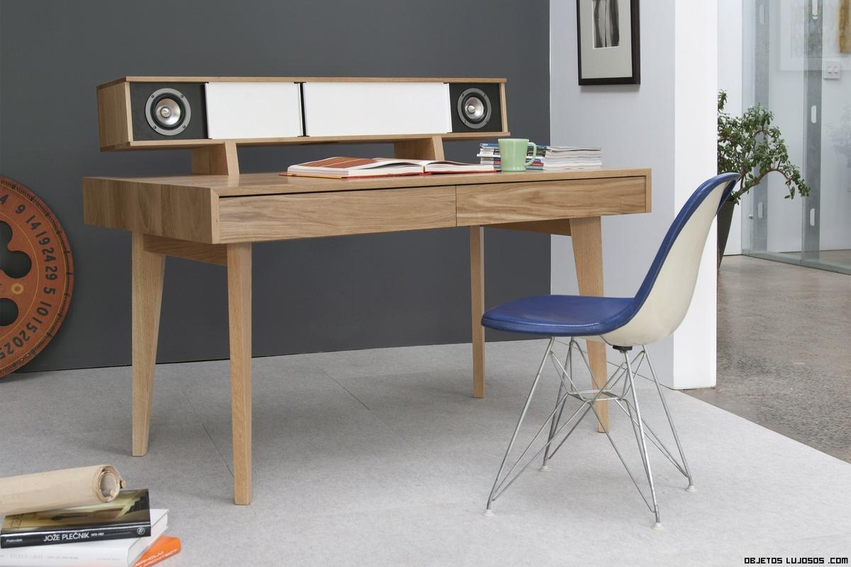 mesas de madera lujosas
