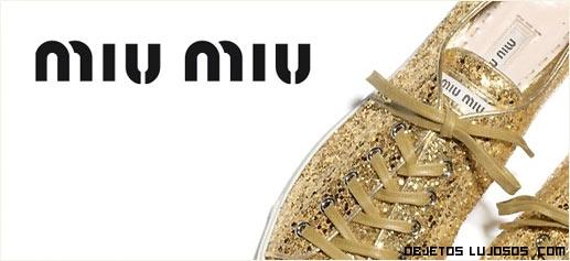 colecciones de lujo Miu Miu