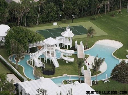 Mansiones con piscinas