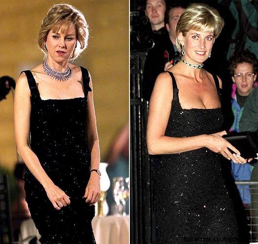 réplica de vestidos Diana