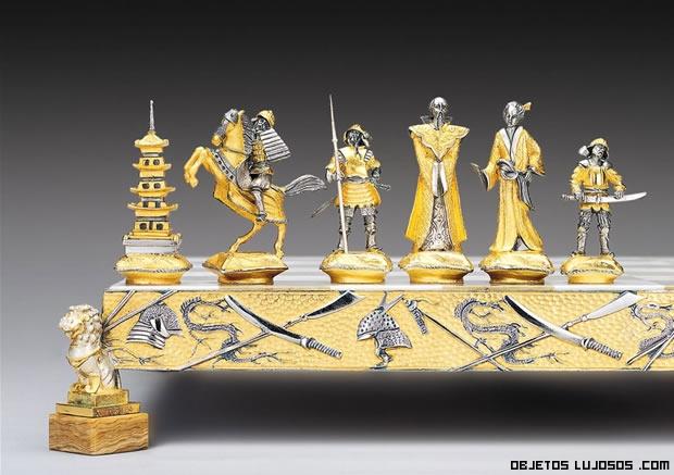 piezas de lujo para el ajedrez