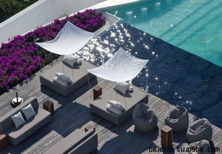 piscinas de hoteles de cinco estrellas