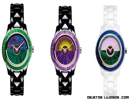 Relojes con piedras preciosas