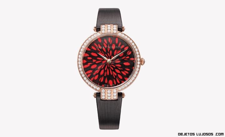 relojes bañados con diamantes