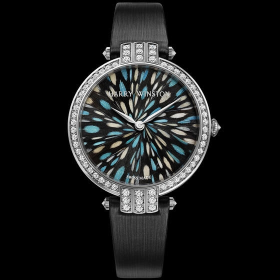 relojes con estampado y brillantes