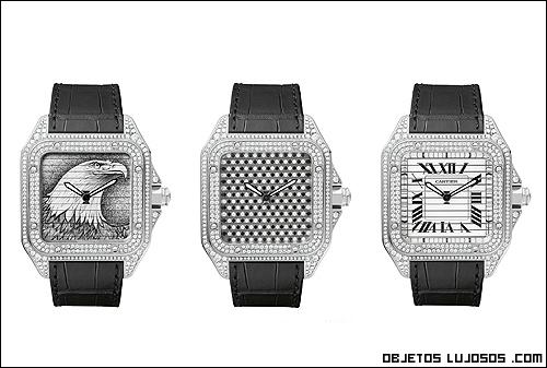 Esferas cuadradas para relojes de lujo