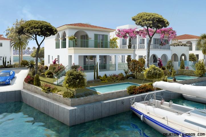 vacaciones en casas de lujo