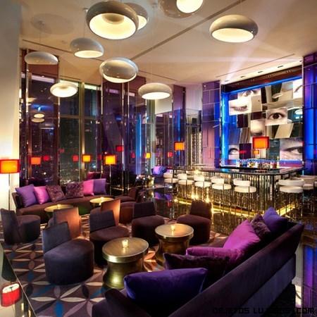 decoración de lujo en hoteles