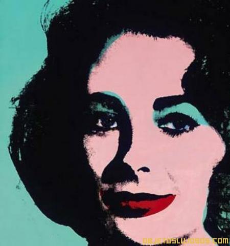 Retrato Elizabeth Taylor