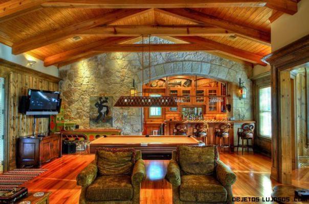 salones de madera