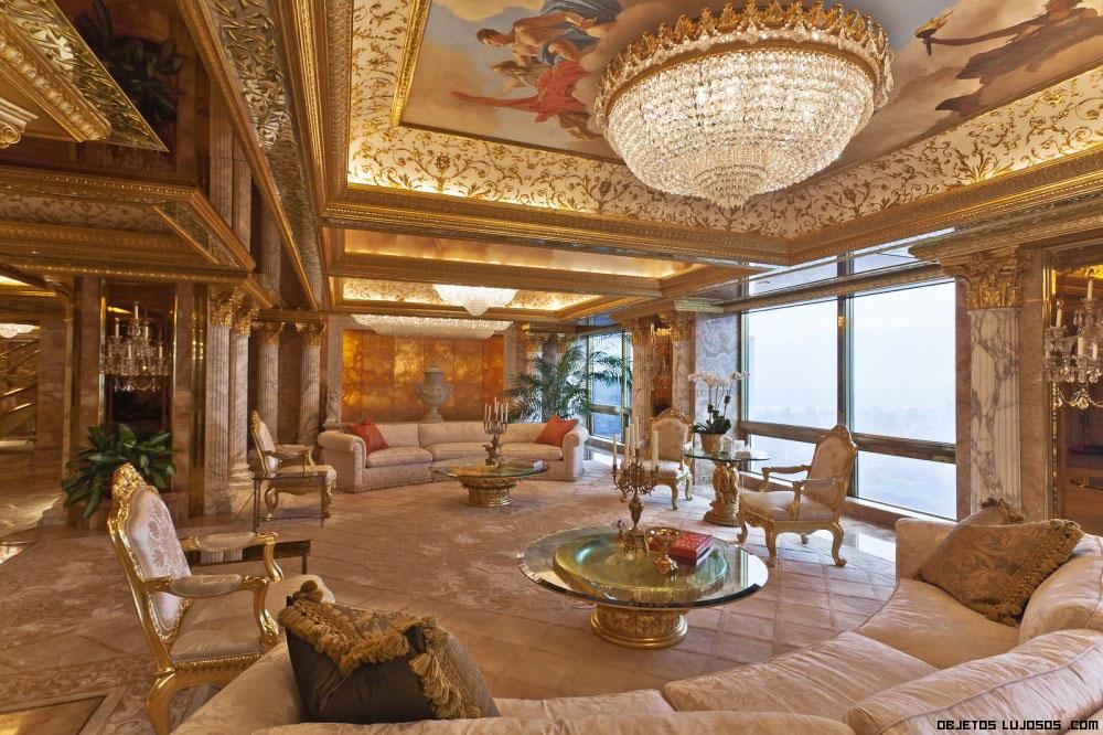 Salones de oro y diamantes