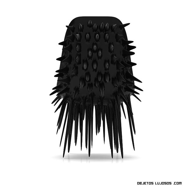 silla en color negro lujosa