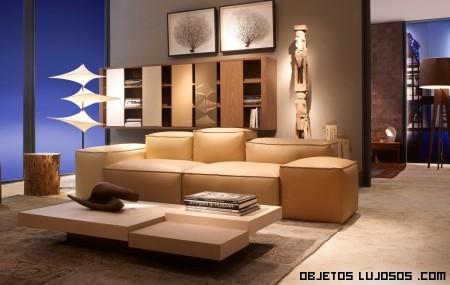salones elegantes con decoración de lujo