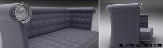 sofá cama moderno y lujoso