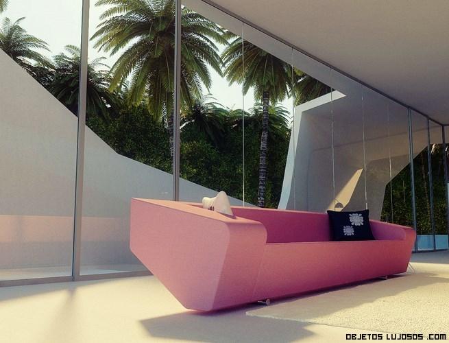 Sofás elegantes para casas modernas