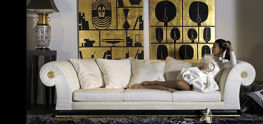 sofás clásicos de lujo
