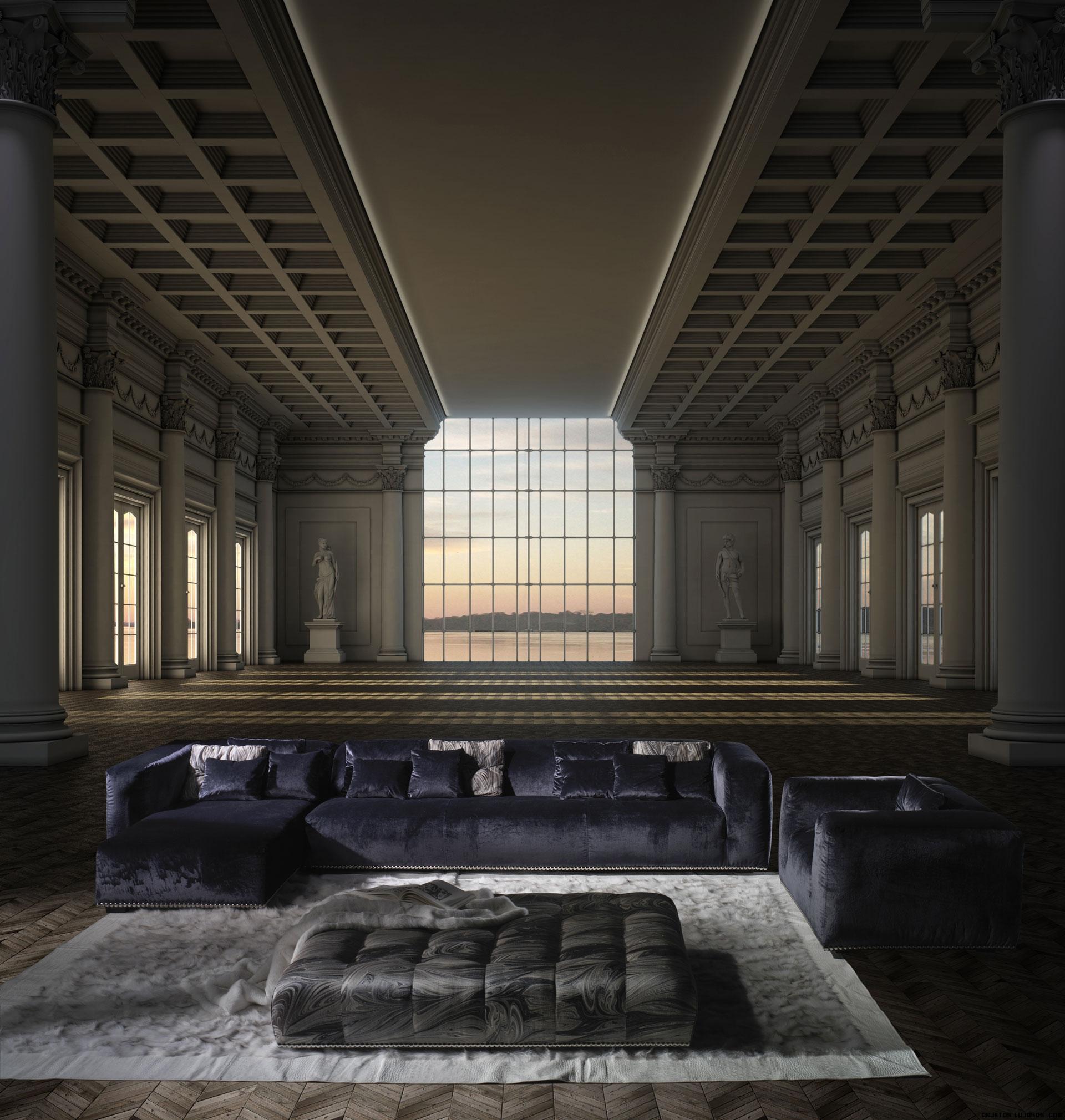 sofás modulares de lujo