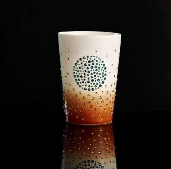 tazas de cerámica lujosas