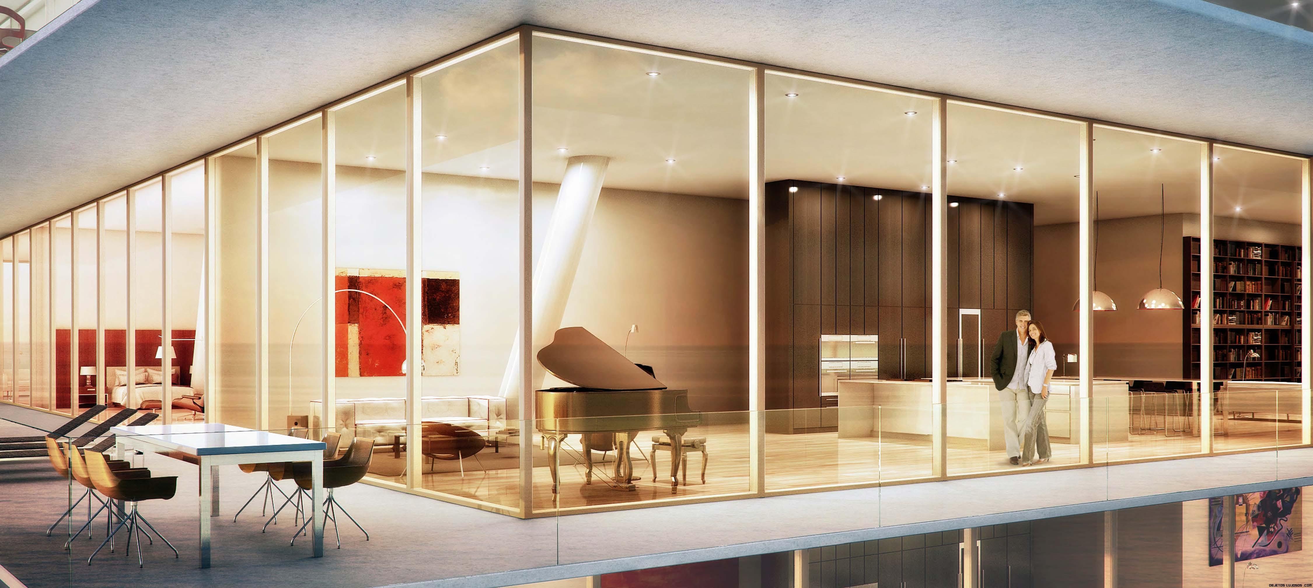 terrazas minimalistas de lujo