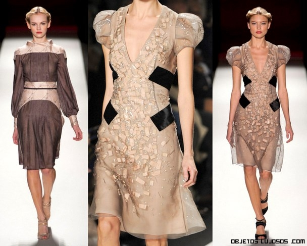 vestidos cortos de gasa
