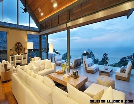 Villas de lujo frente al mar