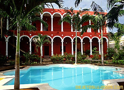 Villa-colonial-en-Mexico