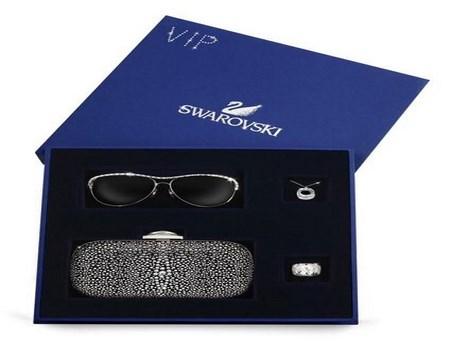 cajas con accesorios de lujo