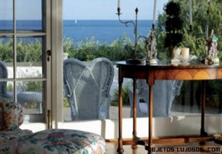 vistas de lujo en casas de famosas