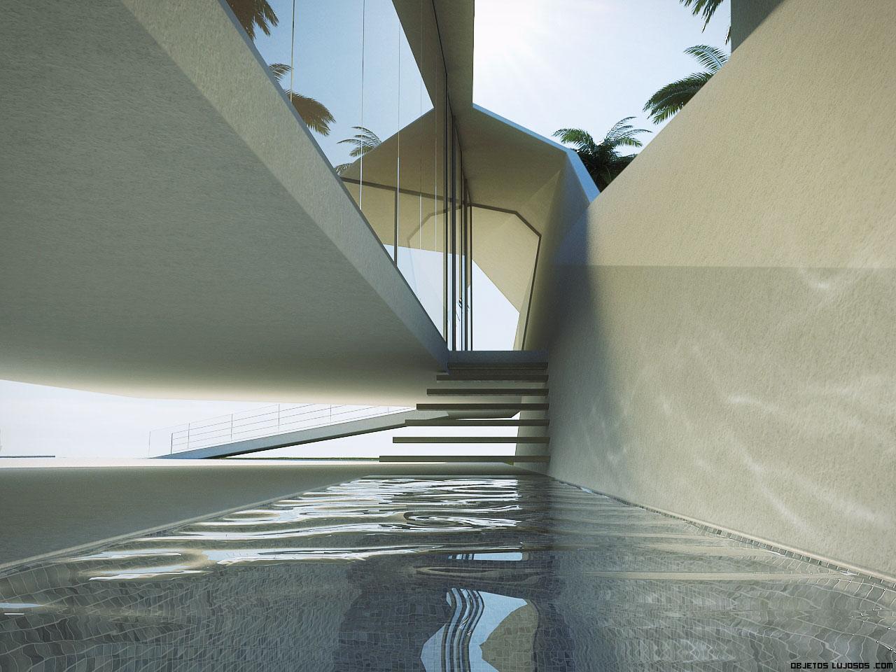 patios interiores minimalistas