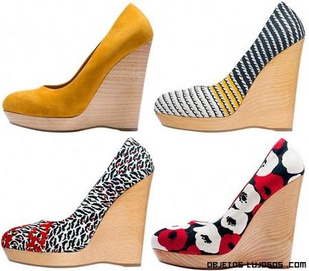 Zapatos de lujo para la primavera 2012