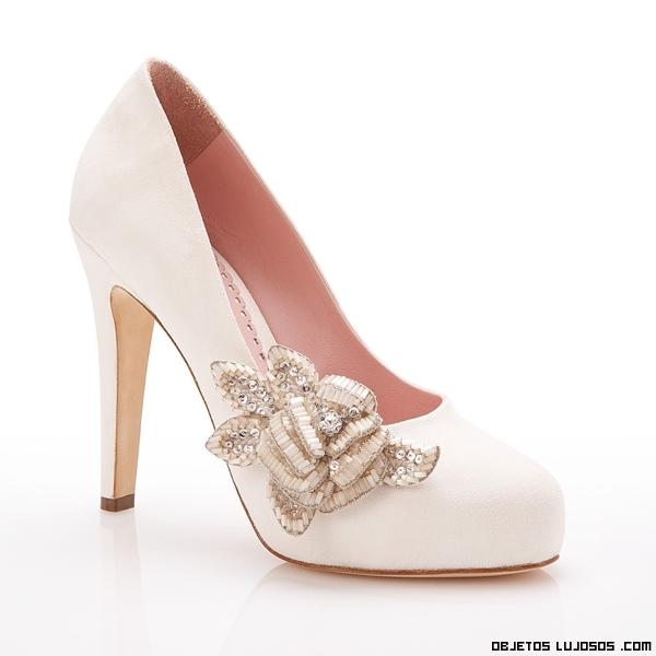 Zapatos rosa para novias