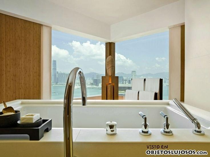baño de lujo en upper house
